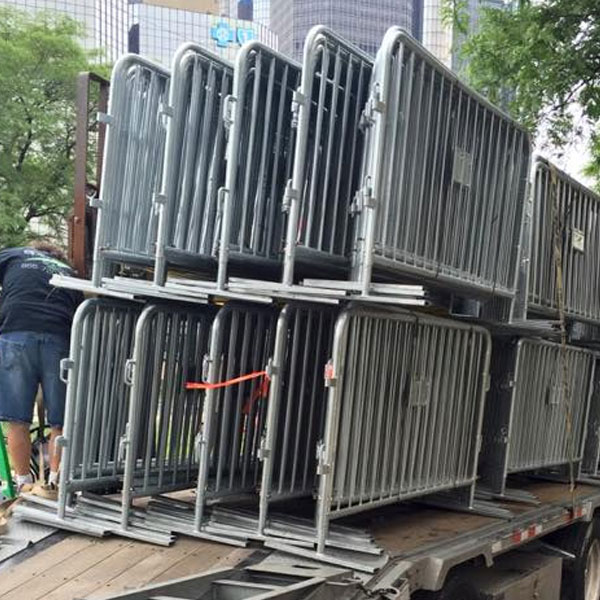 steel barriers for black friday