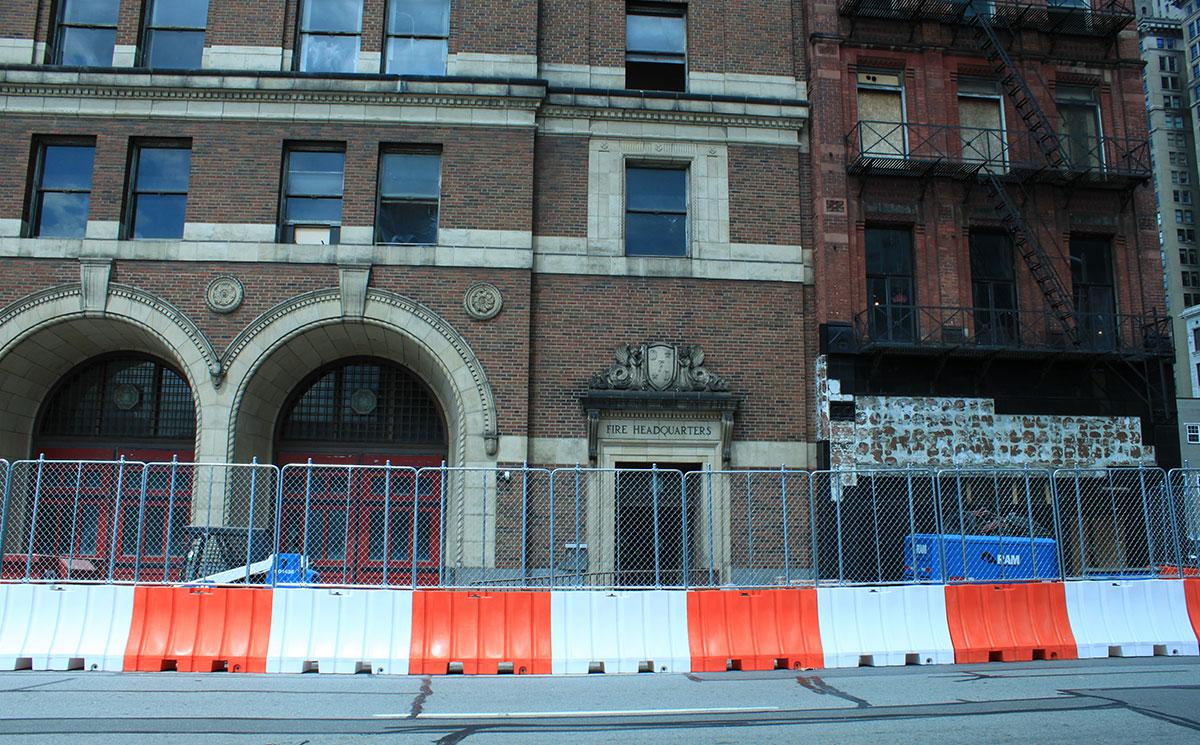 plastic jersey barriers rentals